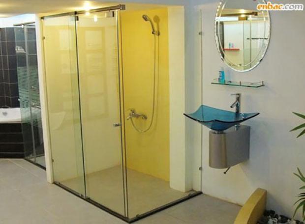 Mẫu cửa kình lùa đẹp cho phòng tắm nhà bạn