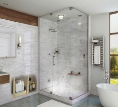 Phòng Tắm Kính cho biệt thự đẹp