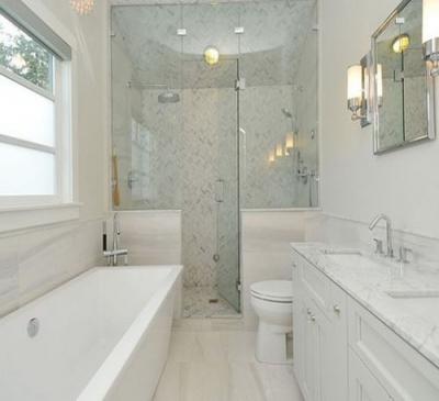 Phòng tắm kính cường lực giá rẻ tại TPHCM