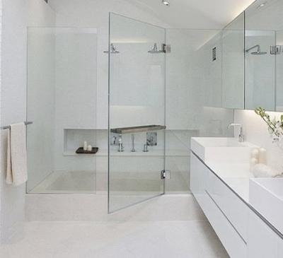 Cửa kính phòng tắm đẹp
