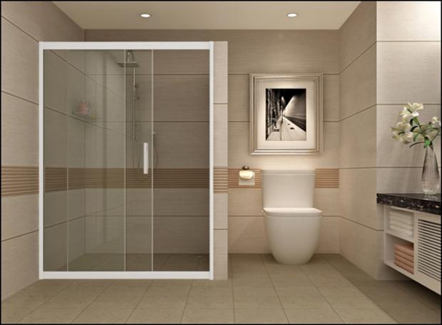 Các bước thi công phòng tắm kính của công ty Thuận Thiên Phát