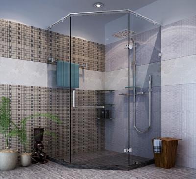 Phòng tắm kính đứng cho biệt thự